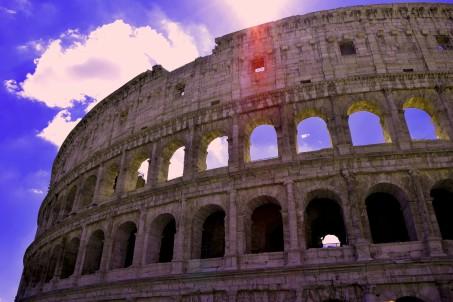 Colosseo, Roma, Italia, August 2016