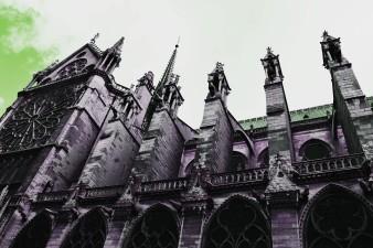 Notre Dame Cathedral, Paris France, August 2016